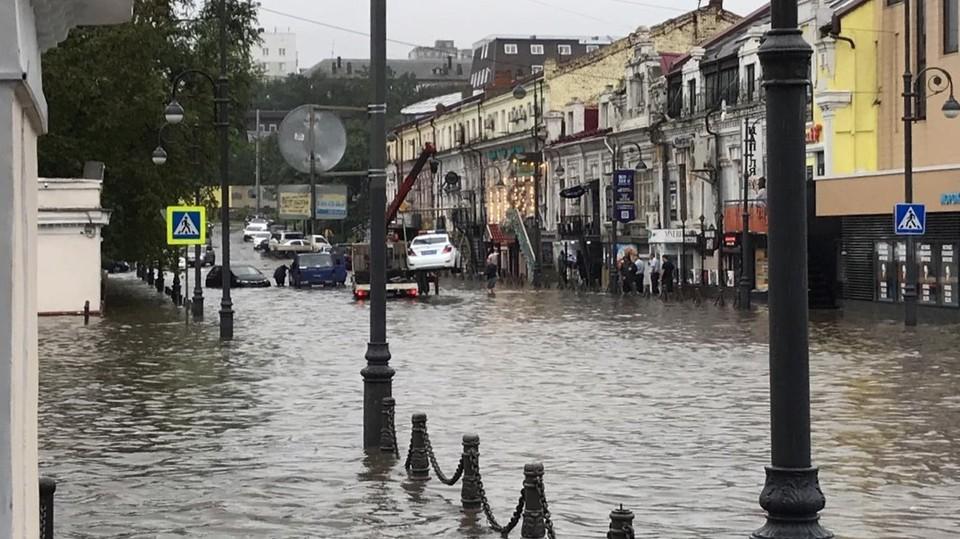 """Тайфун """"Линлин"""" повлиял на погоду во Владивостоке"""