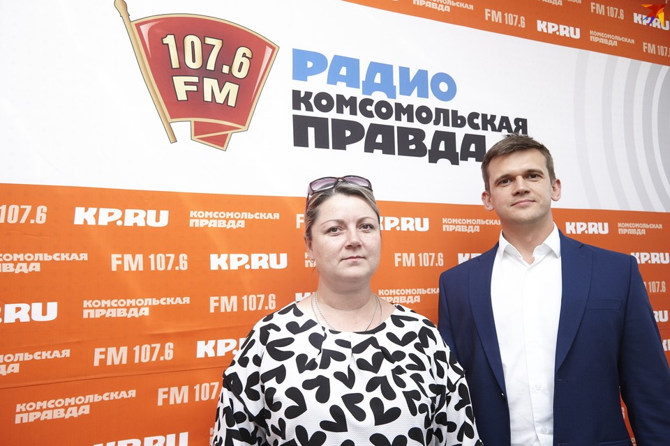 Андрей Миронов, директор «Арко-Строй» и руководитель отдела продаж Наталья Красильникова