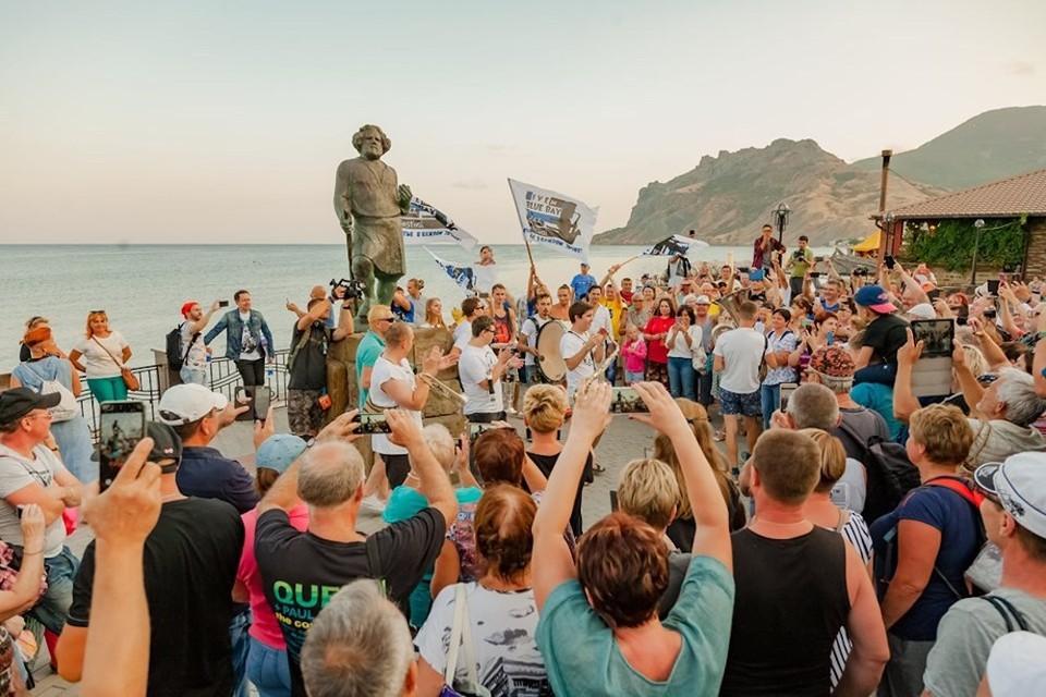В Коктебеле собрались любители джаза. Фото: пресс-служба фестиваля «Live in Blue Bay»