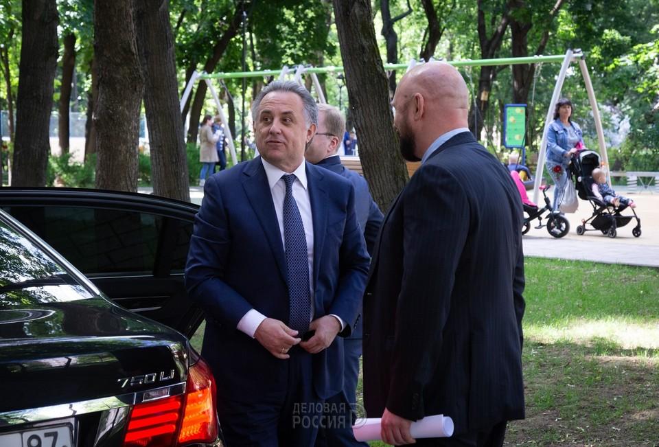 Владимир Кошелев встретился с Виталием Мутко