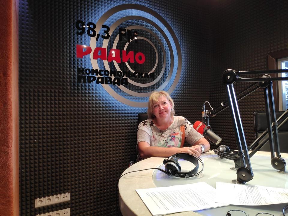 Татьяна Михайловна Перцева, заведующая организационно-методическим отделом НИИТО им.Цивьяна.