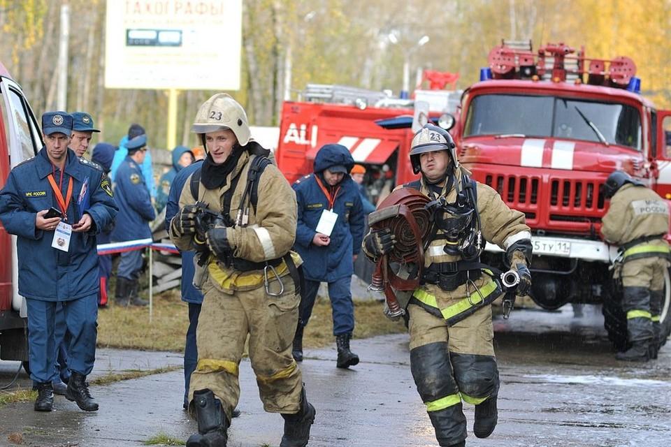 Пожарные уже ликвидировали возгорание.