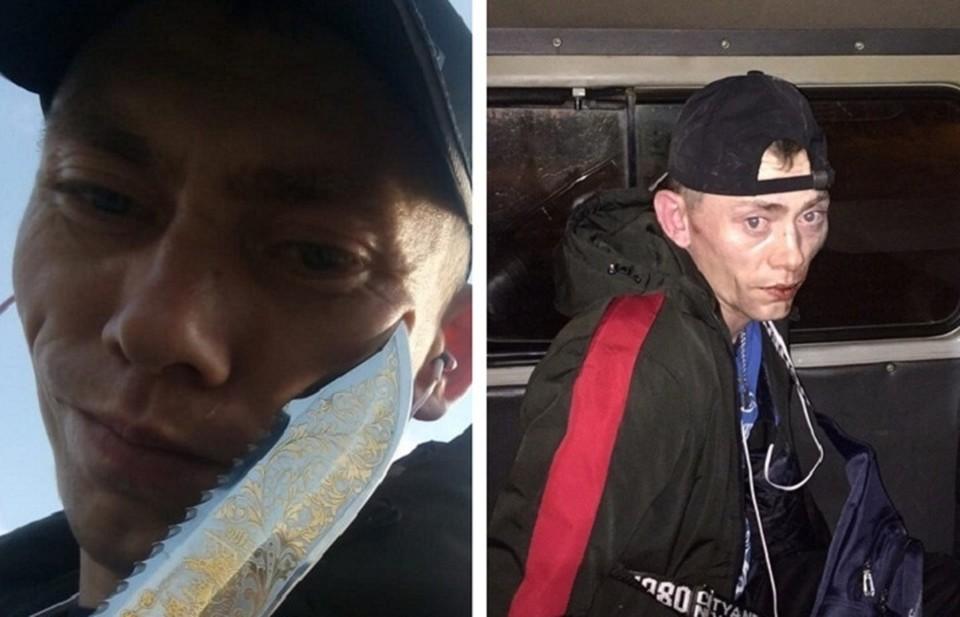 После того, как Денис выставил фото с задержанным в соцсеть, к нему обратились несколько женщин, которых до этого пугал мужчина с ножом. Фото: предоставлено Денисом Матруничем