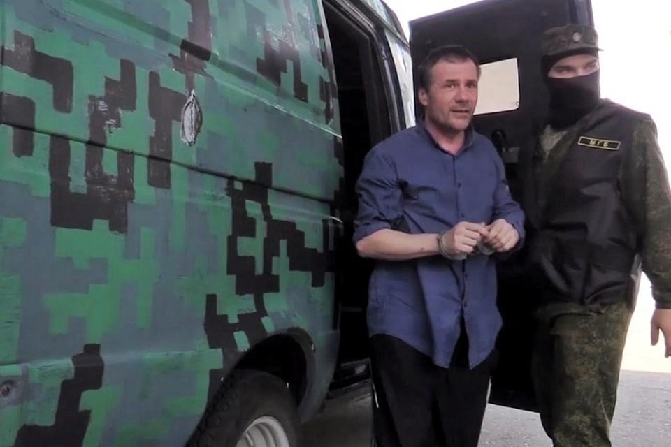 Пятидесятилетнего луганчанина Вадима Дреева украинские спецслужбы использовали для террористической деятельности. Фото: МГБ ЛНР