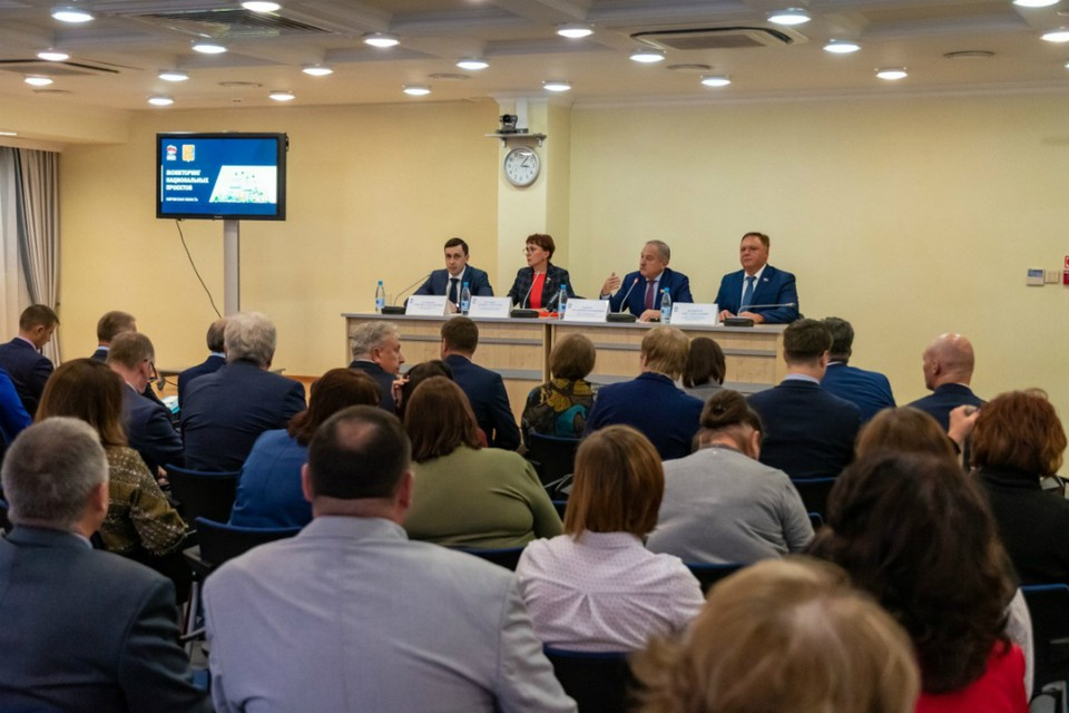 В целом члены мониторинговой группы отметили высокий уровень реализации нацпроектов в нашем регионе. Фото: Законодательно Собрание Кировской области