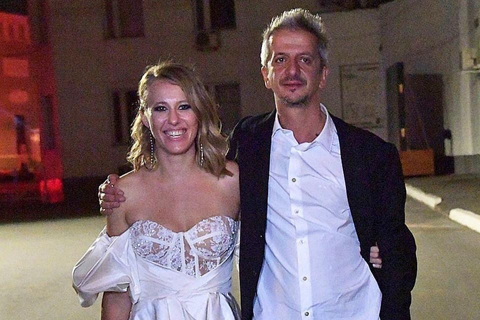 Собчак и Богомолов поженились ровно неделю назад.