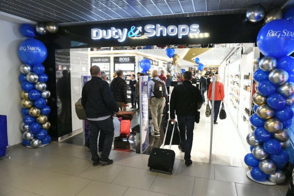 В Пулково открылся магазин Duty Paid в зале внутренних рейсов. Фото предоставлено пресс-службой ООО «Воздушные Ворота Северной Столицы».
