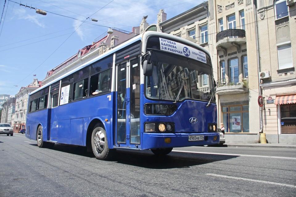 Автобусы Владивостока