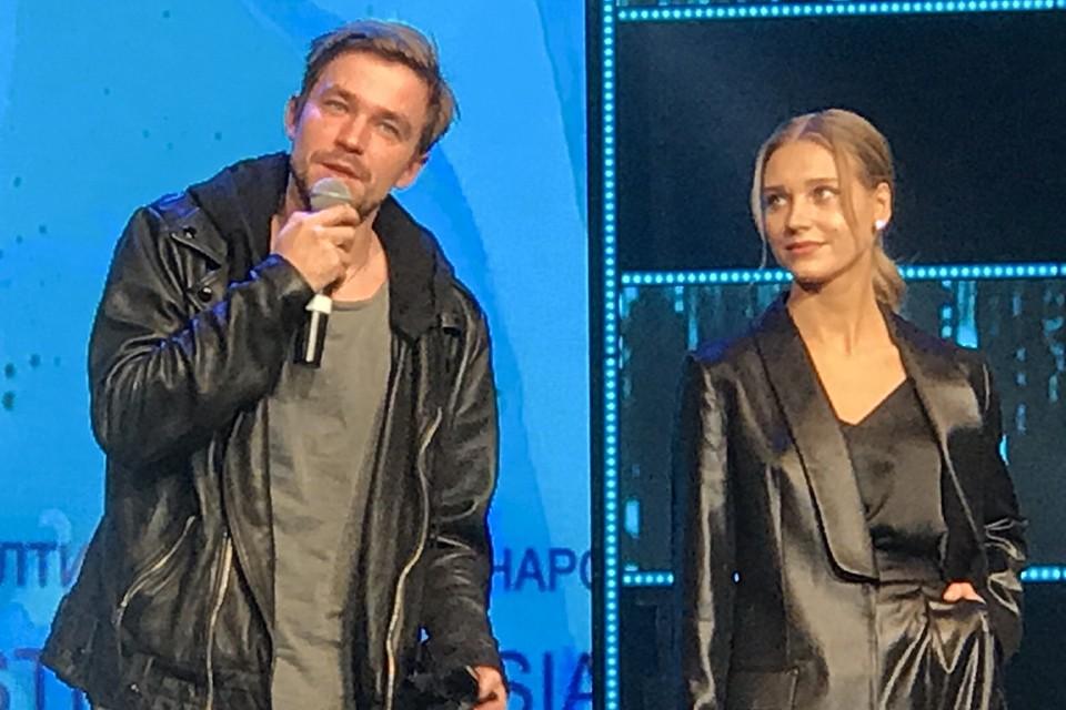 Кристина Асмус была на концерте Егора Крида без мужа.