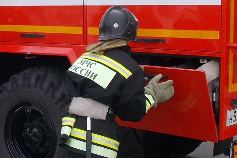 Пожарные не успели дотянуть лестницу до девушки