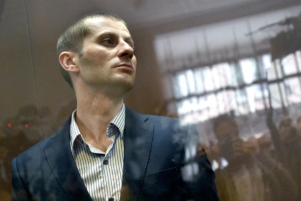 Подсудимый, 32-летний Денис Чуприков выглядел модно и спокойно. Фото: Дмитрий Серебряков/ТАСС
