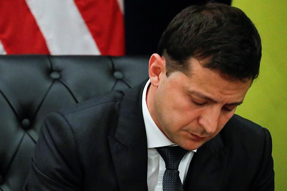 Лицо «Зе» скисло, когда американец дважды заводил разговор об отношениях Киева и Москвы