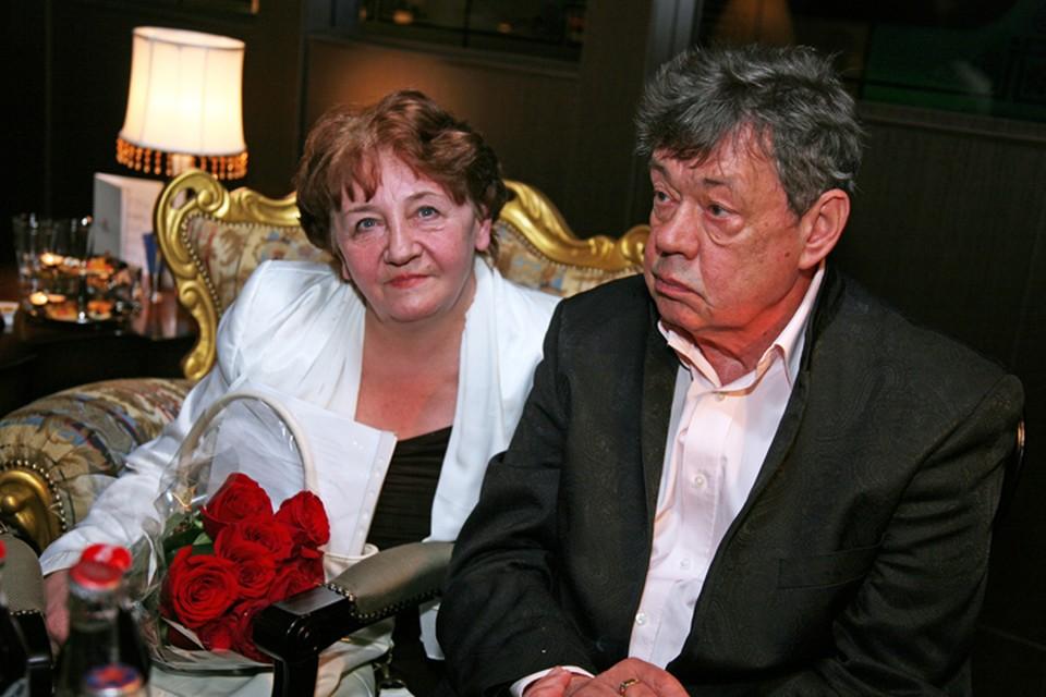Николай Караченцов и поэтесса Елена Павловна Суржикова