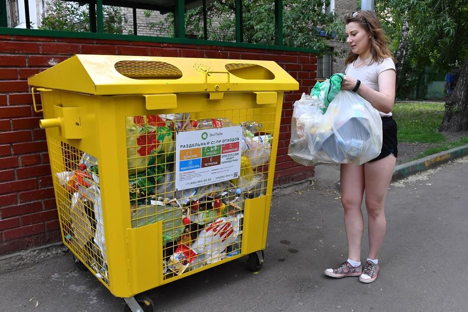 План мусорной предполагает рост процента переработки отходов до 60% до 2024 года.