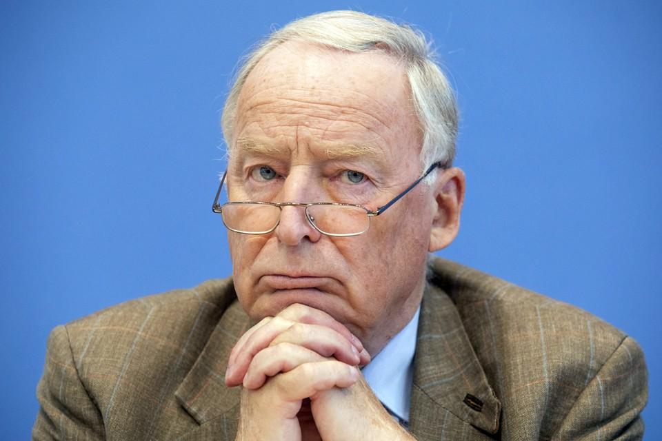 Лидер партии «Альтернатива для Германии» и депутат Бундестага Александр Гауланд