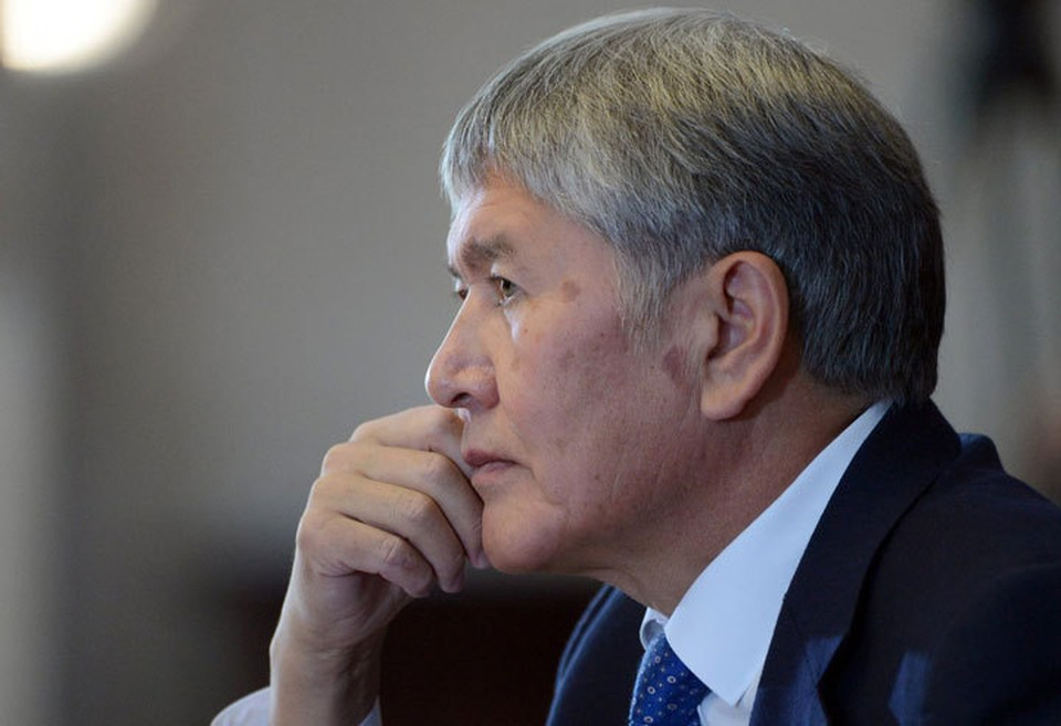 Алмазбек Атамбаев - один из главных фигурантов уголовного дела.
