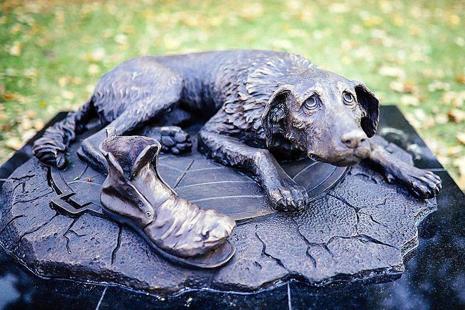 Теперь отлитый в бронзе пес призывает к милосердию