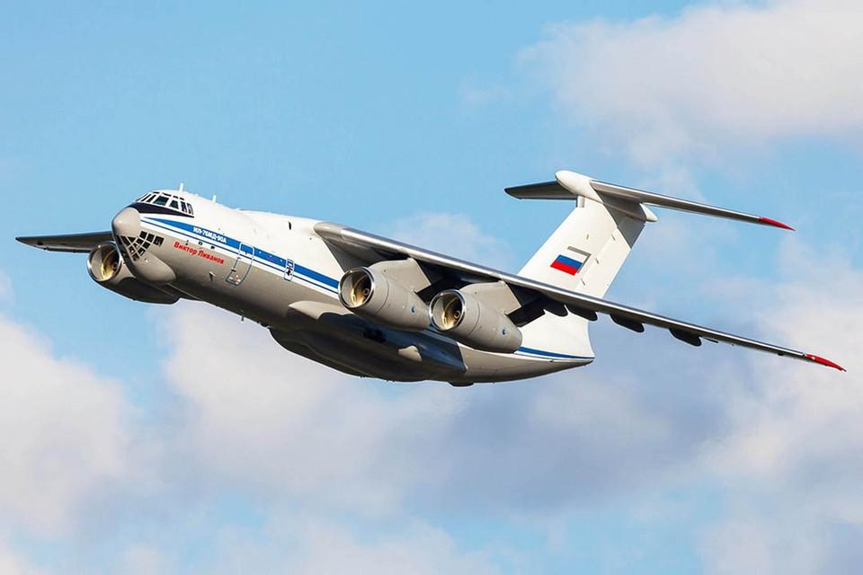Испытания нового военно-транспортного самолета Ил-76МД-90А продолжатся в текущем месяце. Фото: mil.ru