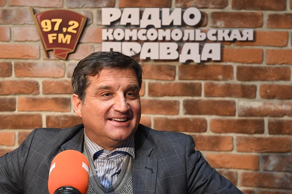 """Отар Кушанашвили в эфире Радио """"Комсомольская правда"""""""