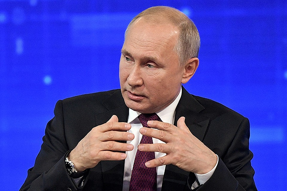Владимир Путин рассказал о разработке новейшего вооружения