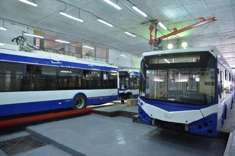 На этой неделе в Кишиневе испытают новые автономные троллейбусы