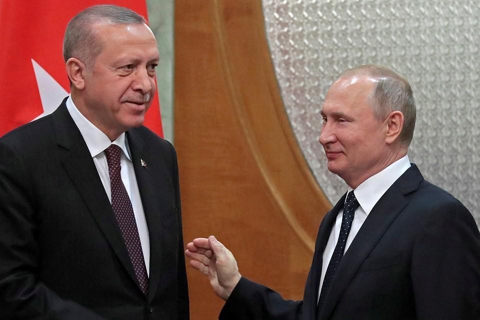 Приглашение Путина, от которого трудно отказаться, турецким коллегой было принято