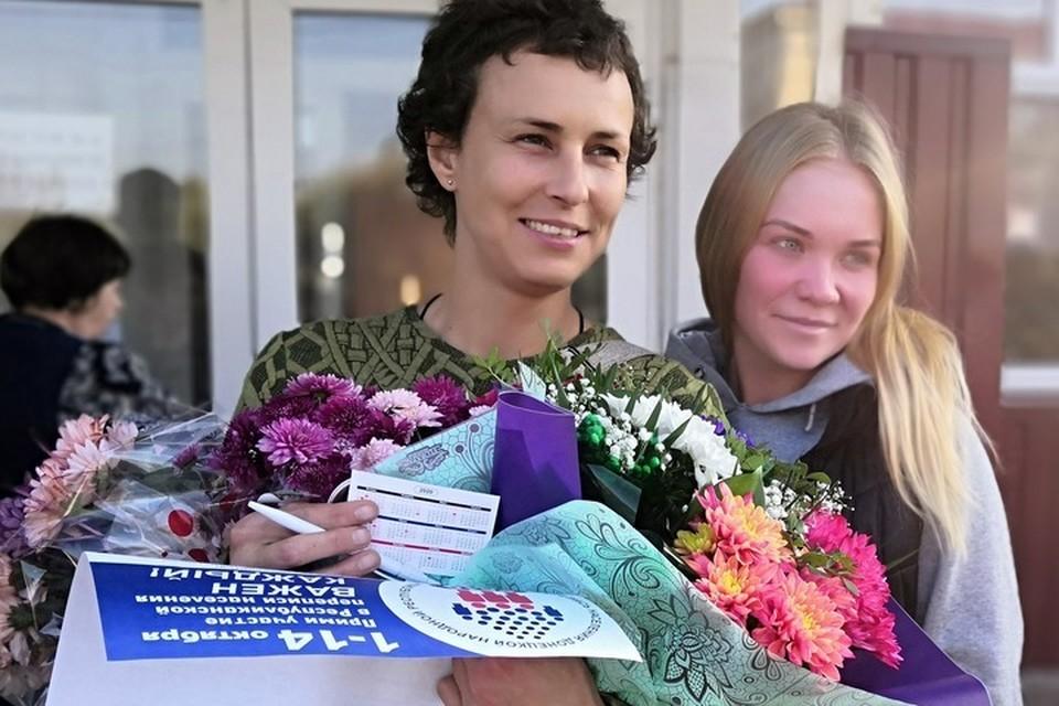Юлия Чичерина и сама уже стала символом Донбасса, столько в ней истинно донецкого.