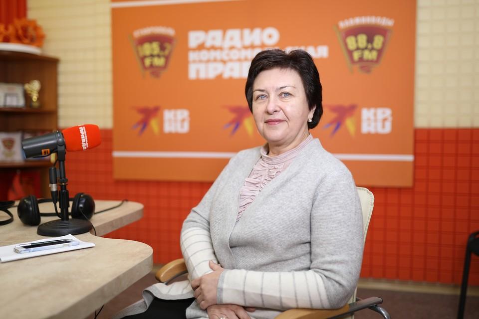 Заместитель председателя правительства-министр финансов Ставропольского края Лариса Калинченко