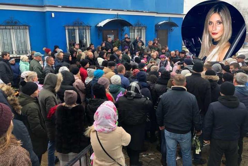 Похороны Ксении Каторгиной проходили в Каменске-Уральском.