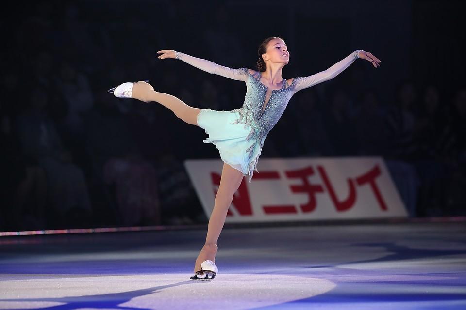 Анна Щербакова готовится к первому этапу нового сезона Гран-при Skate America.