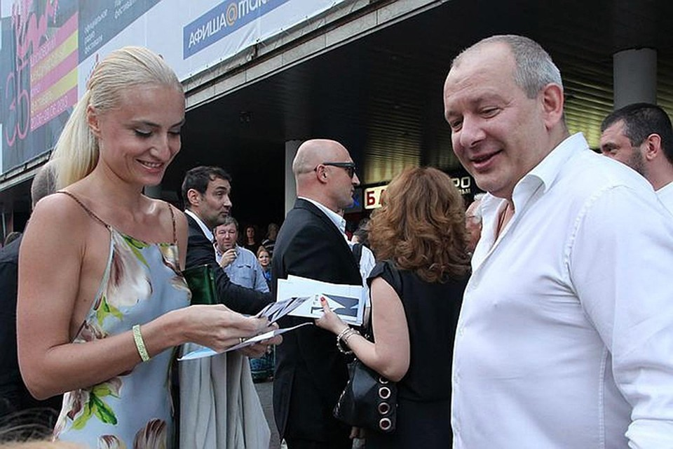 Дмитрий Марьянов с женой психологом Ксенией Бик