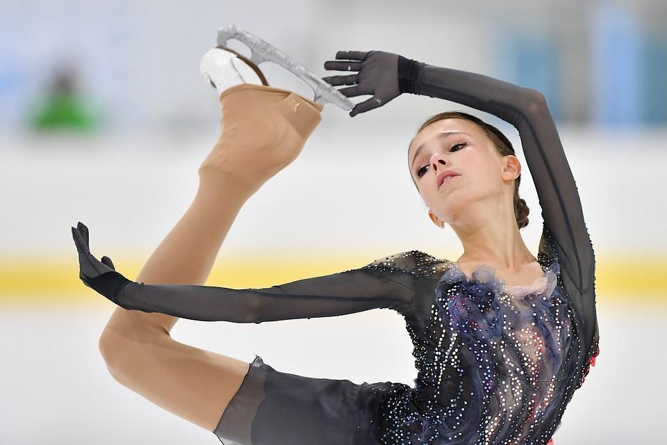Анна Щербакова. Она и Елизавета Туктамышева - надежды российской сборной на Skate America.