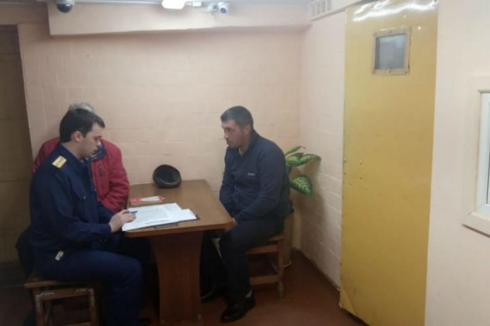 Подозреваемый в поджоге задержан. ФОТО: Следственное Управление СКР по Ярославской области