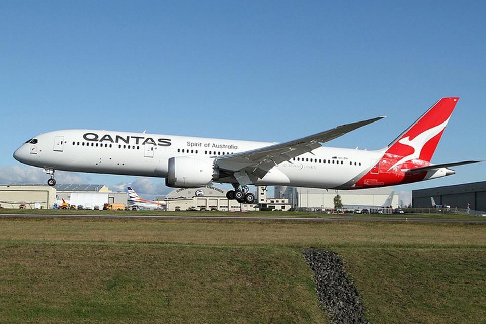 Boeing Dreamliner выполнил рейс Нью-Йорк-Сидней, перелетев через Тихий океан и преодолев более 16 тысяч километров. Фото: Nick Dean/wikimedia.org