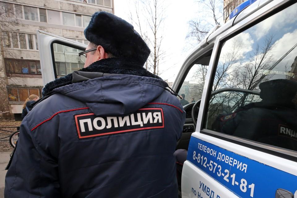 Нападавший задержан. Фото: Петр Ковалев ТАСС