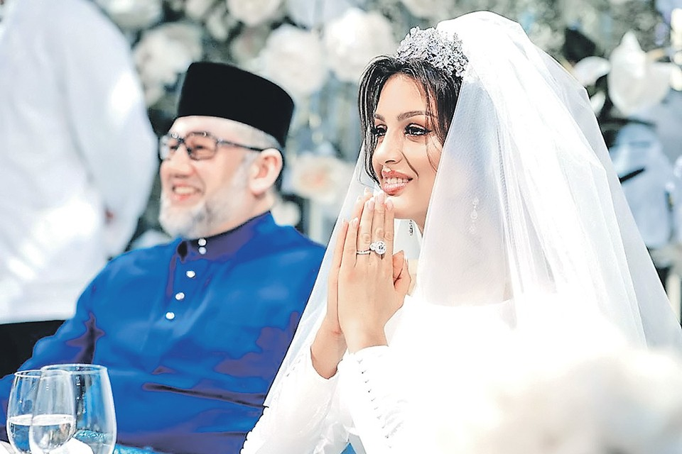 Ради мужа Оксана оставила карьеру модели и приняла ислам. Фото: instagram.com/rihanapetra