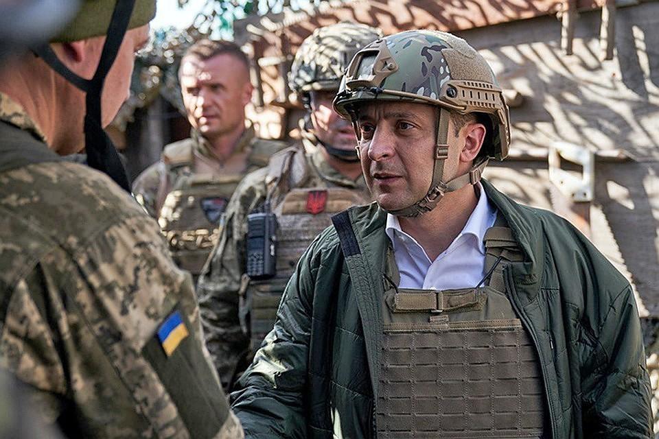 Появилась информация о тайной поездке Зеленского на передовую в Донбассе