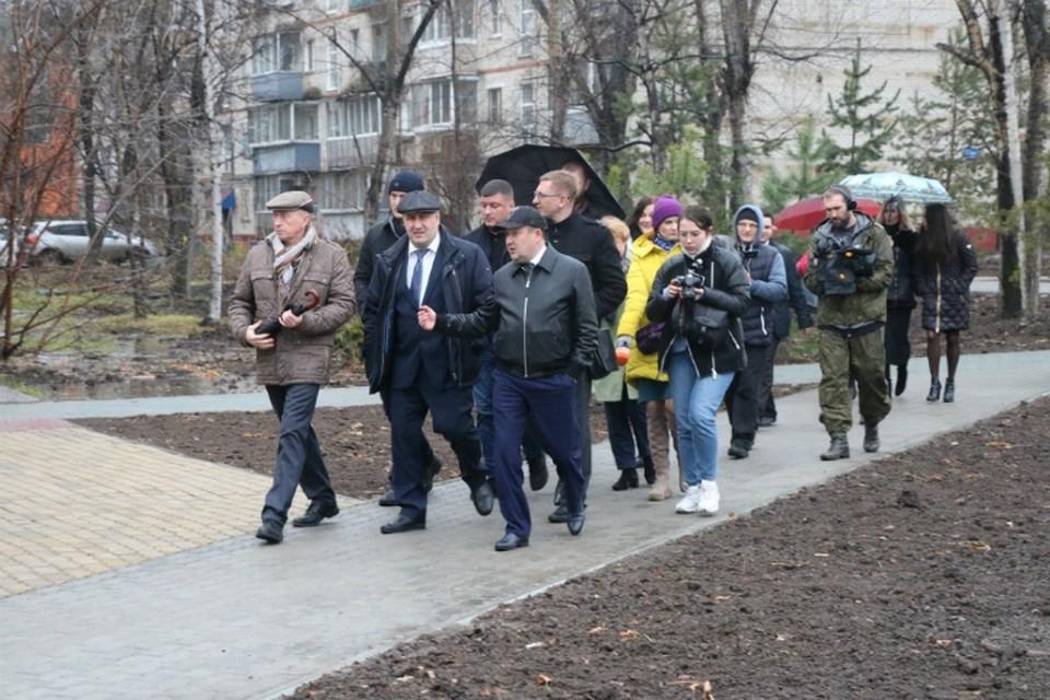 В Минстрое России указали мэру Хабаровска на неугодные павильоны ФОТО: Министерство ЖКХ Хабаровского края