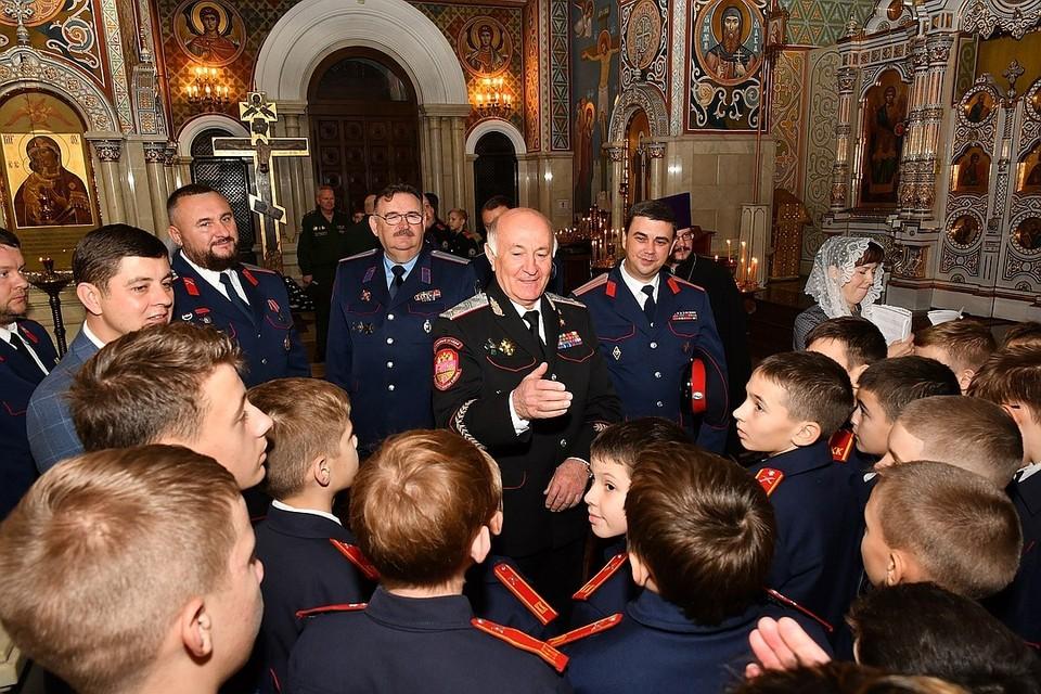 Николай Долуда - первый атаман Всероссийского казачьего общества