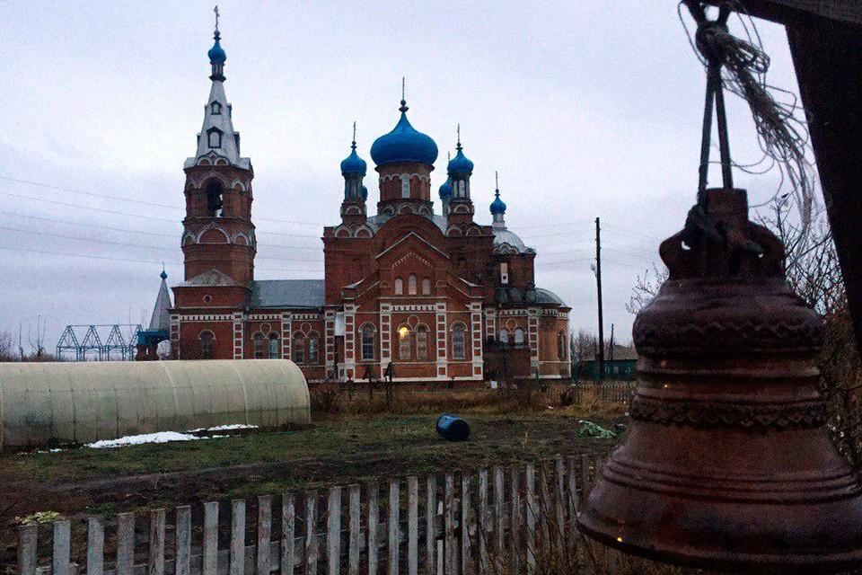 Мужской монастырь в Коробейниково.