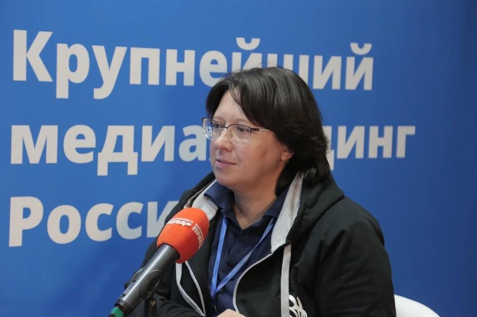 Заместитель генерального директора по подготовке кадров и директор академии WorldSkills Russia Светлана Крайчинская.