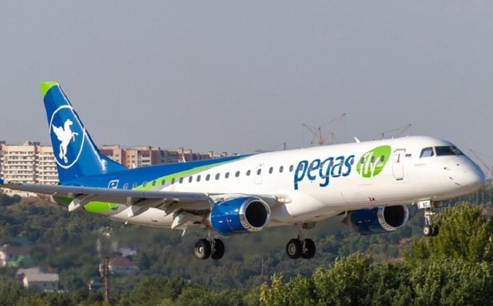 В аэропорту Хабаровска при взлете загорелся двигатель самолета Фото: соцсети