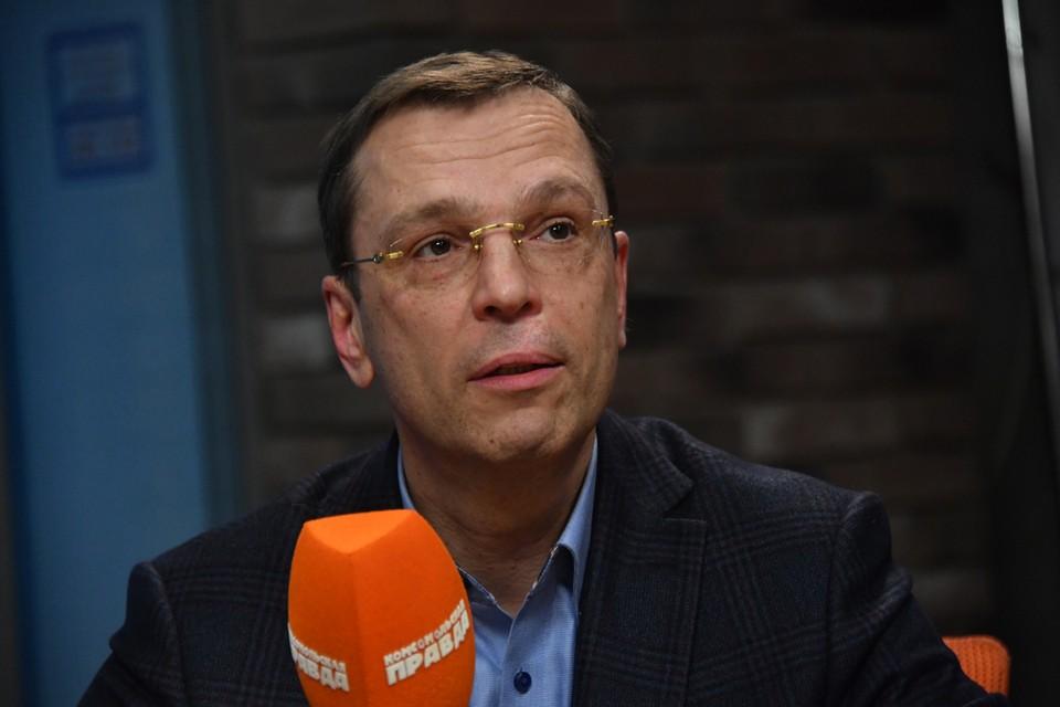 Доктор экономических наук Никита Кричевский.