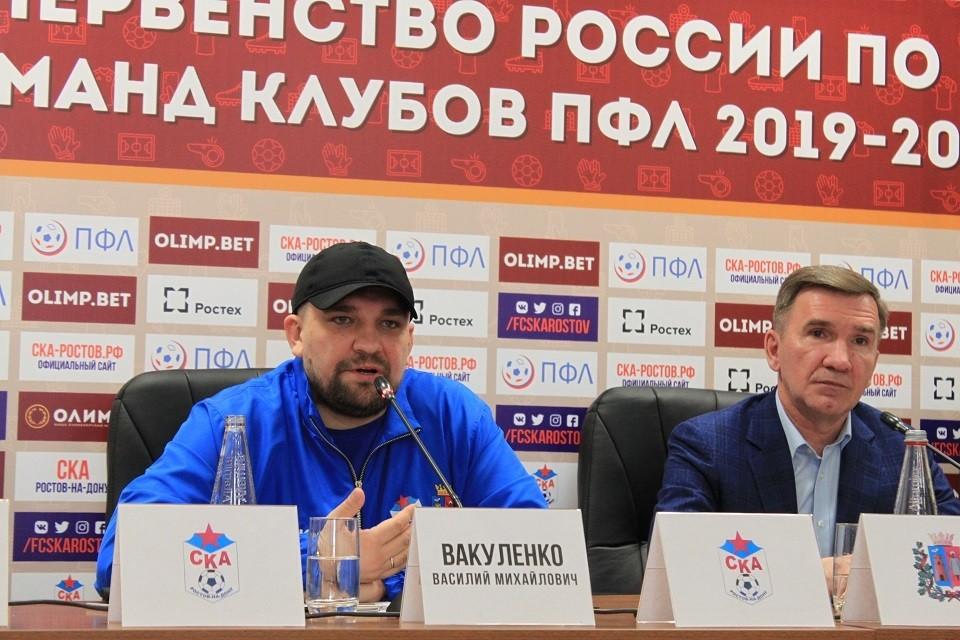 Василий Вакуленко пришел в СКА всерьез и надолго. Фото: Юрий ПОЗДНЯК