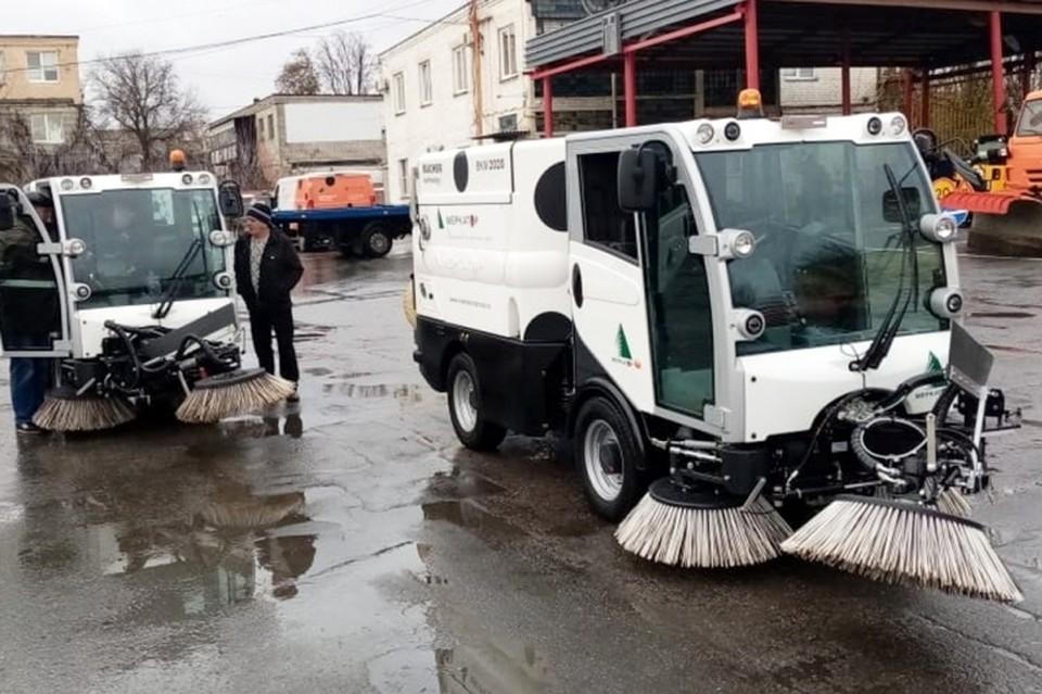 В Липецке появятся новые машины для уборки улиц