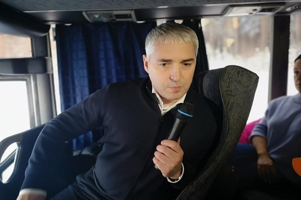 Глава Ноябрьска пригласил горожан пообщаться во время прогулок Фото: Администрация Ноябрьска
