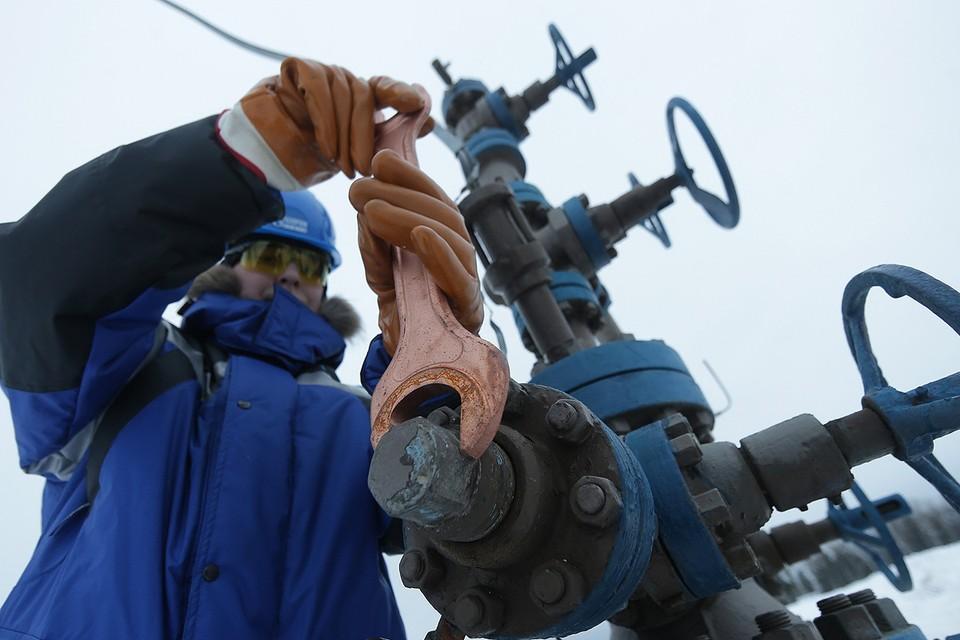 Добыча нефти на Южно-Приобском месторождении, ХМАО. Фото Владимир Смирнов/ТАСС