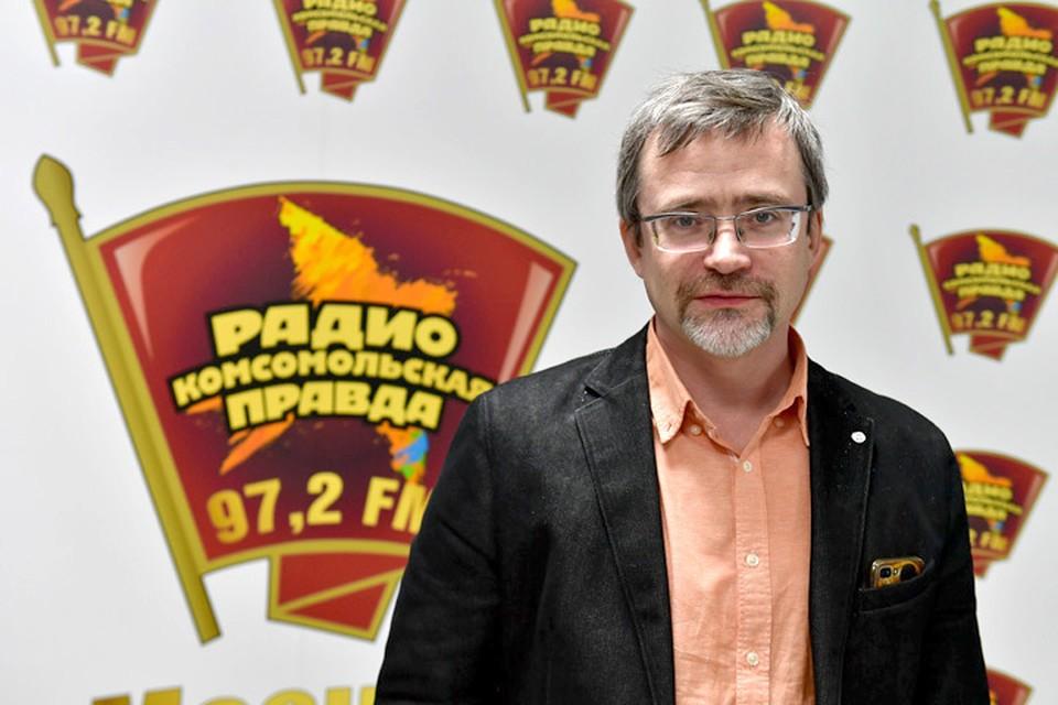Глава ВЦИОМа Валерий Фёдоров в гостях у Радио «Комсомольская правда».