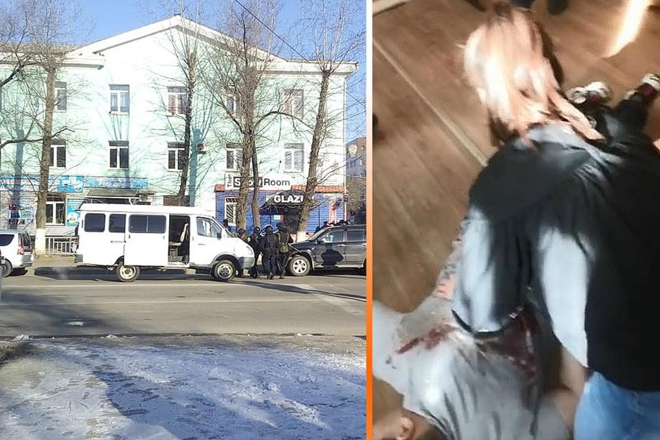 В результате стрельбы погибли два человека, ранены трое.