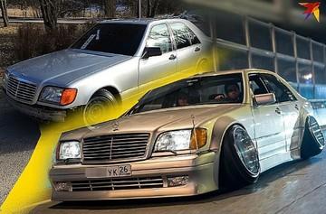 Из невзрачного «кабана» — в звезду автофестивалей: как простой ставрополец прокачал старый «Mercedes» до неузнаваемости